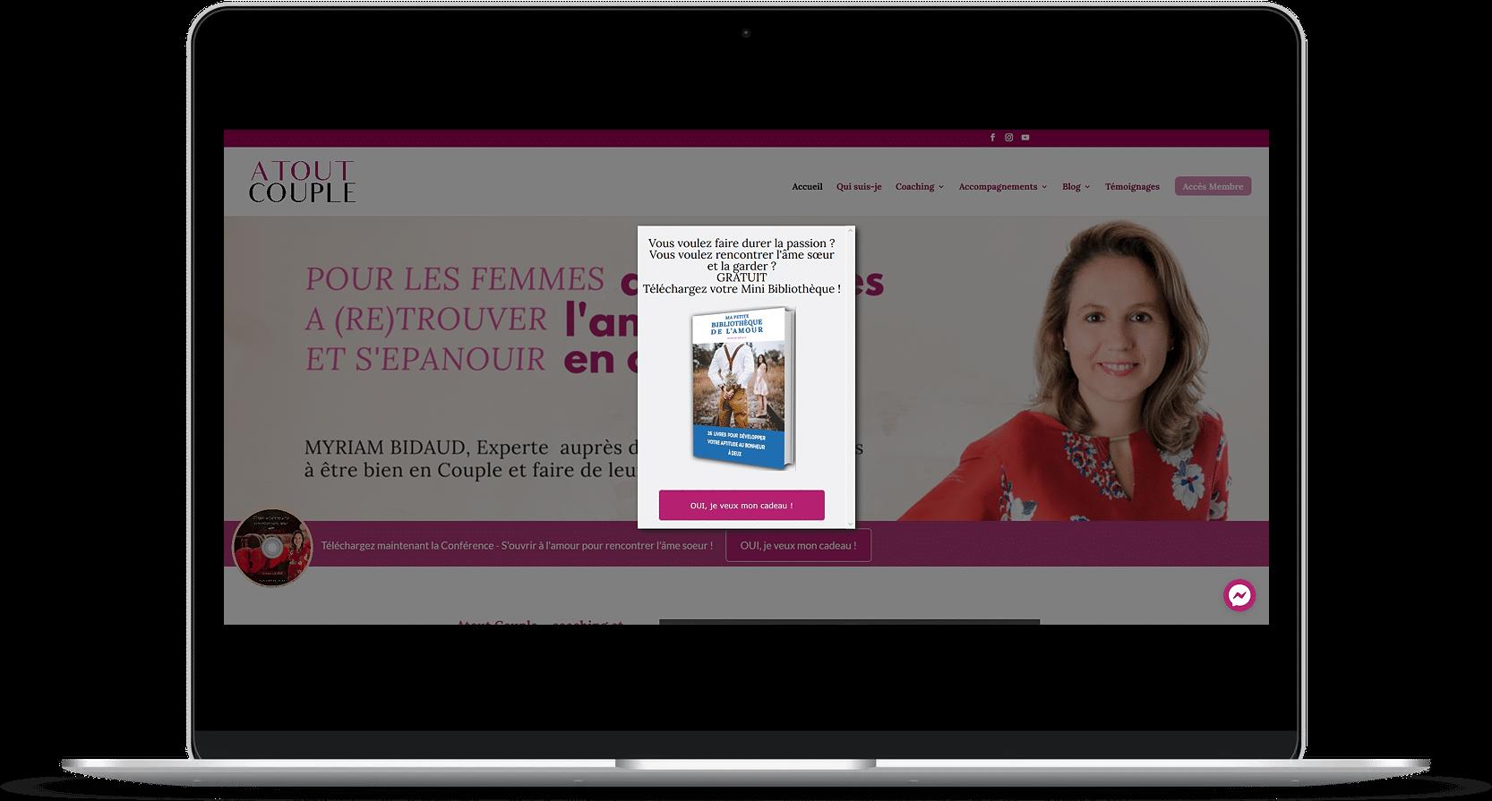 Création de site web – Atout couple