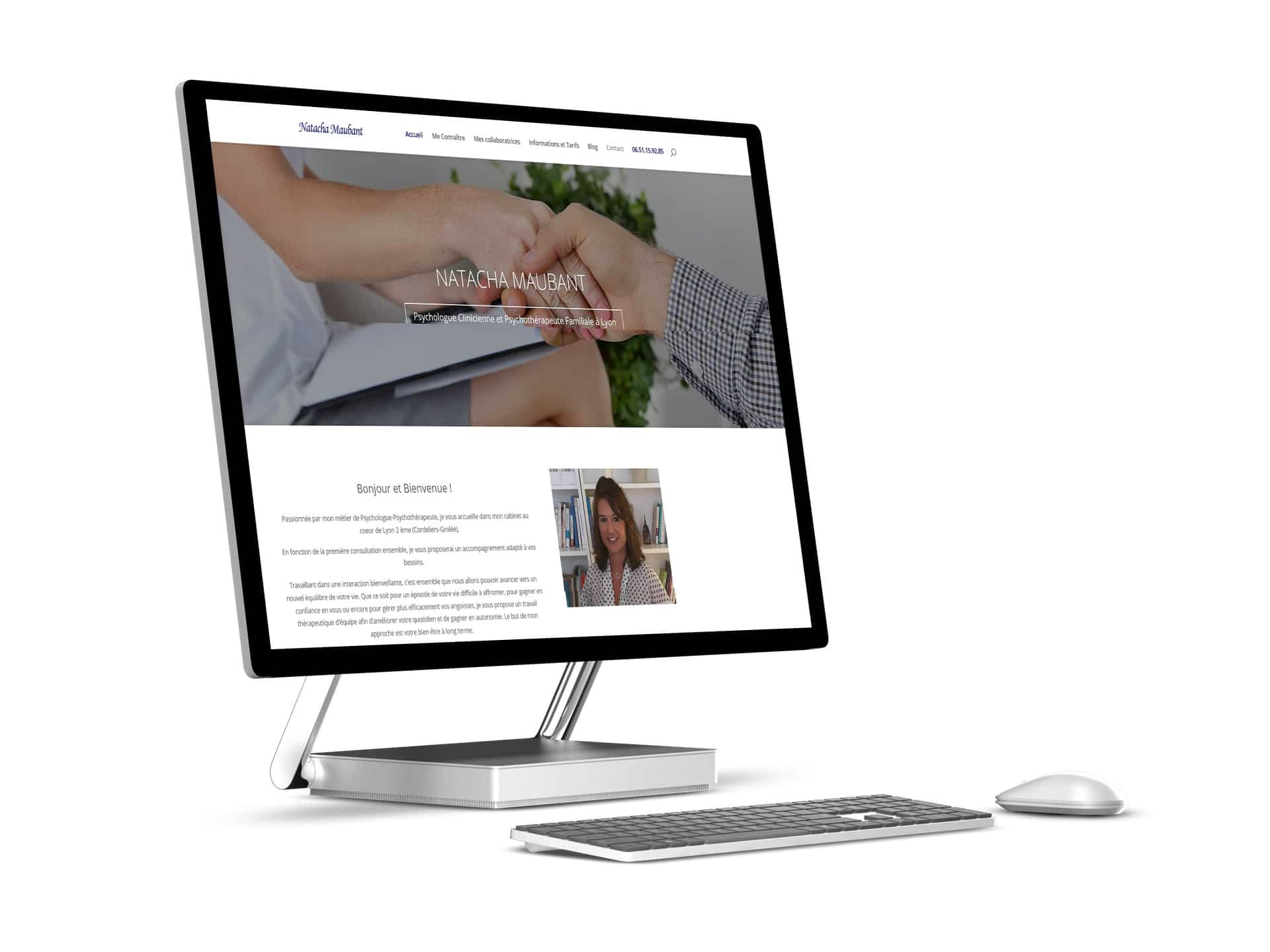 Read more about the article Webmastering – site Psychologue